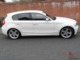 white bmw 1 series sport 1 series in white m sport 58 plate immaculate