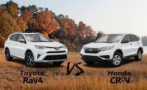 toyota rav vs honda crv 2016 toyota rav4 vs 2016 honda cr v warrenton toyota