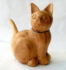 wooden cat decorative carved wooden cat s end 4 28 2016 1 15 pm