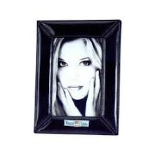 leather picture frames leather frames personalized black leather photo frames