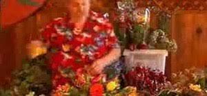 how to arrange flowers in a wide shallow vase flower arrangement