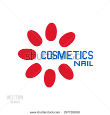 logo nails business nail technician nail stock vector 397728100