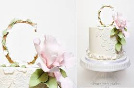 monogram cake toppers mongram cake toppers rustic floral cake magazine