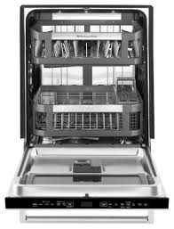 Dishwasher With Heating Element 44 Dba Dishwasher With Window And Lighted Interior Kdtm804ess