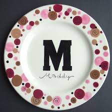 personalized ceramic plate ceramic painting ceramics ideas plate colors and patterns
