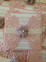 laser cut invitations baby shower invitation bridal shower invitation lasercut