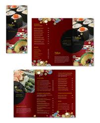 takeout menu template japanese restaurant take out menu template