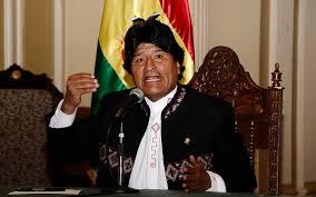 evo morales evo morales envía carta al papa para liberar a bolivianos