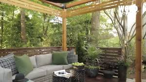 how to build a pergola with shade youtube