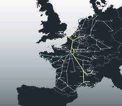 England Train Map by Europe Rail Map Europe By Train From London St Pancras Coach