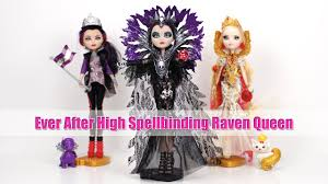 ever after high halloween costume ever after high spellbinding raven queen unboxing and review youtube