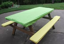 elasticized picnic table covers 50 picnic table cover set deluxe elastic picnic table cover blue or