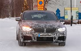2018 bmw 6 series gt spied while testing m sport version in winter