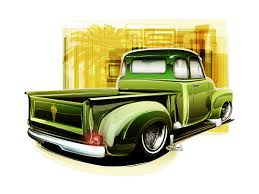stanced cars drawing style drawing rods