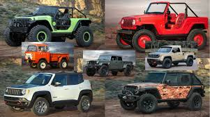 jeep safari concept 2017 easter jeep safari reveals seven concepts our favorite is the