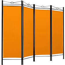 partition furniture room divider screen folding paravent 4 panel partition wall