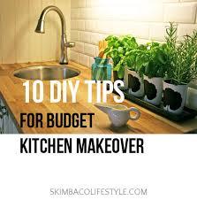 diy kitchen makeover ideas budget kitchen makeover ideas via skimbacolifestyle lifestyle