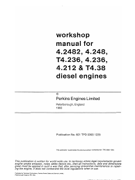 workshop manual perkins 4 236