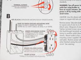 careful these outlet wiring instructions are wrong