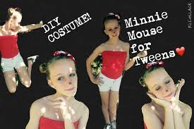 diy halloween costume 2017 tween minnie mouse diy halloween costume youtube