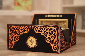 wedding invitations in a box wedding invitation boxes india 13087