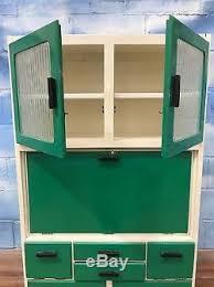 vintage retro 50 u0027s 60 u0027s kitchenette larder unit cabinet in green