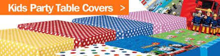 themed table cloth buy kids party table covers disposable party table covers
