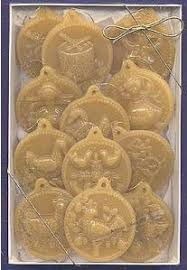 72 best beeswax ornaments molds images on primitives