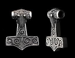 kabara thor s hammer silver pelenhar pinterest vikings