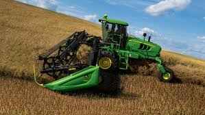 mowing w260 windrower john deere us