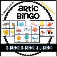 articulation bingo s blend r blend u0026 l blend by
