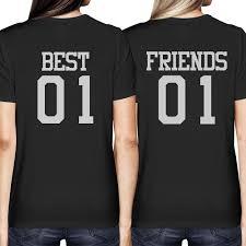 am besten 01 und freunde 01 passende t shirts gedruckt bff
