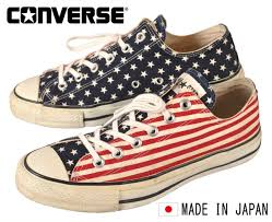 Converse American Flag Shoes Used Clothing Penguintripper Rakuten Global Market Vintage