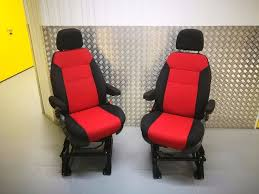 swivel captains chair pair of captain swivel seat inc base will fit ducato relay boxer