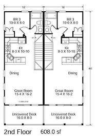 duplex beach house plans 53 best beach house plans images on pinterest house floor plans