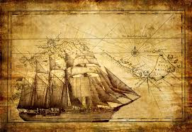 Old Treasure Map Vintage Map Wallpapers Wallpaper Cave