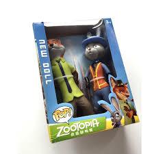 2017 20cm new movie zootopia cartoon utopia action figure movie