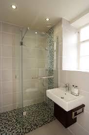 shower enclosure in small en suite with bathroom installation in