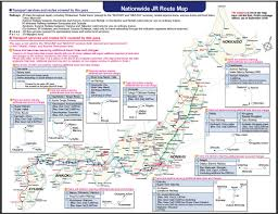 Eurostar Route Map by Japan Rail Passes Asia Train Journeys Goway Travel