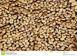 wooden pieces for firing stock image image of cleaved 13023321