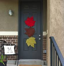 halloween door ideas cool halloween decorating ideas for brown wooden front door idolza