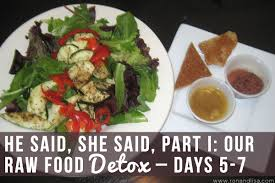 our 14 day raw food detox dispelling the myths and misconceptions