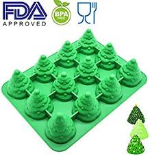 amazon com wilton 2105 0074 24 cavity christmas cone bite size