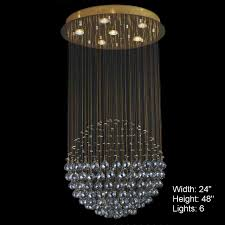 Chandeliers Modern Brizzo Lighting Stores Sphere Modern Chandelier Large