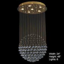 Lights Chandelier Brizzo Lighting Stores Sphere Modern Chandelier Large