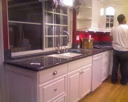 White Cabinets Granite Countertops by Blue Pearl Granite With White Cabinets Roselawnlutheran