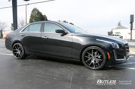 cadillac cts 20 inch wheels cadillac cts with 20in lexani r twelve wheels exclusively from