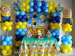 minions party supplies minions birthday theme party