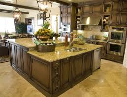 Kitchen Islands With Dishwasher Kitchen Island With Dishwasher And Sink Cream Marble Counter Tops