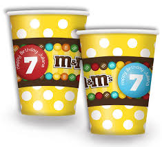 personalized party supplies m ms party supplies